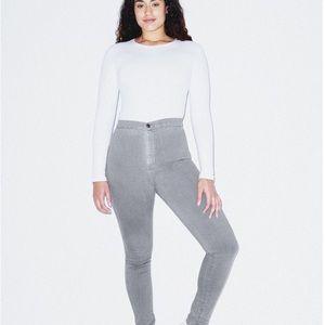 NWT American Apparel Easy Jeans Grey